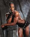 Girl with muscle - Lenda Murray