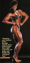 Girl with muscle - Lenda Murray