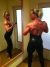 Girl with muscle - Katrin Kirsch (naughty nicky )
