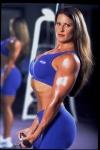 Girl with muscle - Bernadette Matta