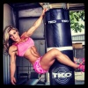 Girl with muscle - Chelsea Hagan