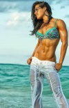Girl with muscle - danielle duran