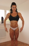 Girl with muscle - Maria Hasselmark
