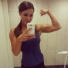Girl with muscle - linn tovas