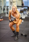 Girl with muscle - Nathalie Falk