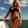 Girl with muscle - Kelly Rodrigues