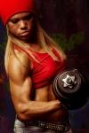 Girl with muscle - Viktoria Misjura
