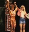 Girl with muscle - Diana Dennis (L) - Cory Everson (R)