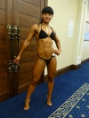 Girl with muscle - Anna