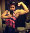Girl with muscle - Rebecca Sanders