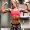Girl with muscle - Sanne Abrahamsson