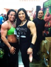 Girl with muscle - Michelle Cummings (L) - Jessica Scofield (R)