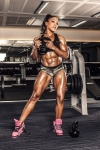 Girl with muscle - Jennifer Laura