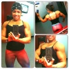 Girl with muscle - Erica Blockman