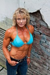 Girl with muscle - Nancy Clark