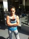 Girl with muscle - Olga Vertegel