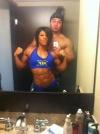 Girl with muscle - Dana Linn Bailey