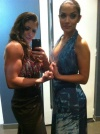 Girl with muscle - mariane