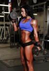 Girl with muscle - Ashley Horner