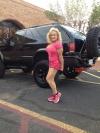Girl with muscle - Mary Ellen Jerumbo