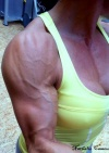 Girl with muscle - nathalie camou