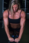 Girl with muscle - Annette Guthro