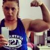 Girl with muscle - Chleo Van Wyk