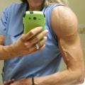 Girl with muscle - liz