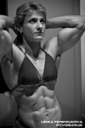 Girl with muscle - lenka ferencukova