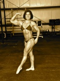 Girl with muscle - Gillian Mounsey Ward