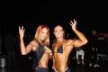 Girl with muscle - Galya Yerofyeyeva (L) - Silvia Sarti (R)