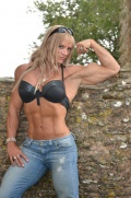Girl with muscle - Fabi Antoine