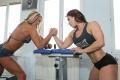 Girl with muscle - Timea Gagos (L) - Susanna Tirpak (R)