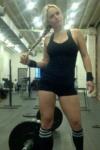 Girl with muscle - Allison Bishop (AllisonNYC)