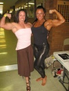Girl with muscle -  Jacqueline Horan / Heather Policky