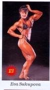 Girl with muscle - Eva Sukupova