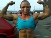 Girl with muscle - Lorraine Canham