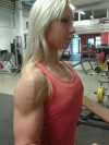 Girl with muscle - Pernilla