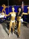 Girl with muscle - Silvia Sy (L) - Maria Kostadinova (R)