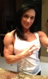 Girl with muscle - Valerie Gangi