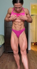 Girl with muscle - Karina Akmens