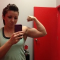 Girl with muscle - Marie-Elaine Brodeur