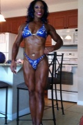 Girl with muscle - Towanda Smith
