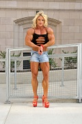 Girl with muscle - dena westerfield