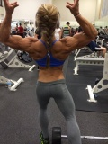 Girl with muscle - Danielle Reardon