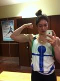 Girl with muscle - Natasha Aughey