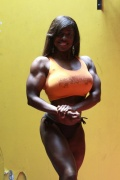 Girl with muscle - Dolly Lazarre