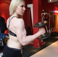 Girl with muscle - Jutta Vento
