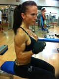 Girl with muscle - Miriam Sanchez