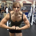 Girl with muscle - Ashley Hromyak